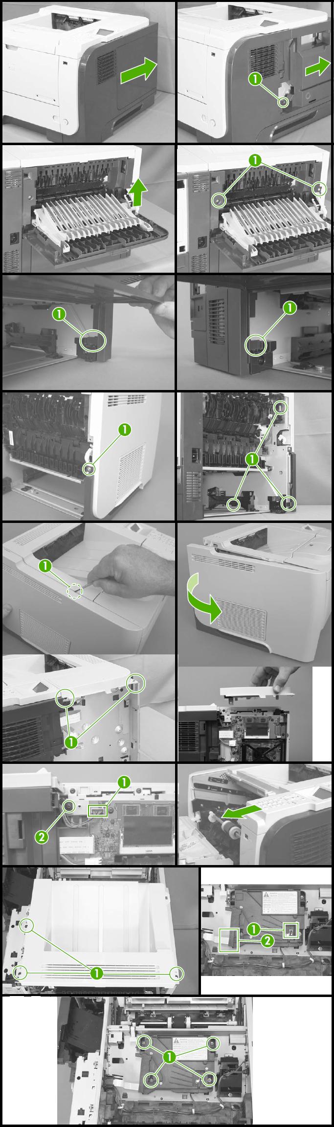 51 10 Error- HP Laserjet P3015 Printer - Laser Scanner Error