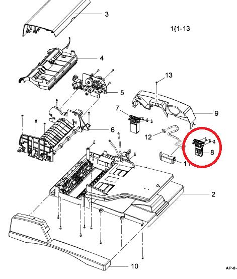 samsung printer part diagram hp printer parts diagram