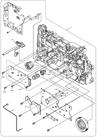dell 5210n parts diagram