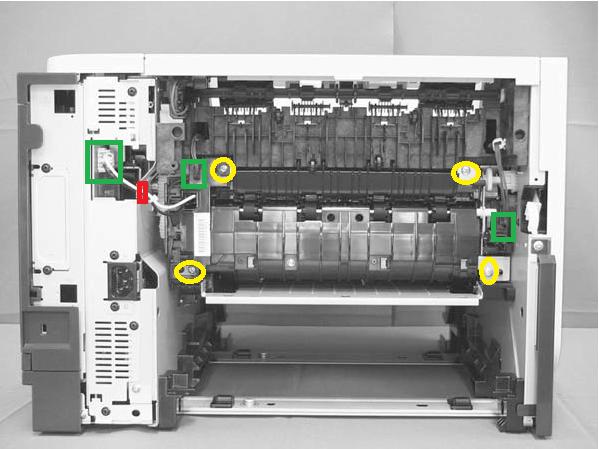 service manual instructions - 50 x fuser error