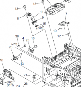 Hp Printer Parts Diagram on acura vigor wiring diagram