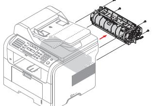 Low Heat Error Cycle Power on the Xerox Phaser 3300MFP Printer Repair