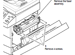 Xerox WorkCentre 4150 fuser Assembly Removal