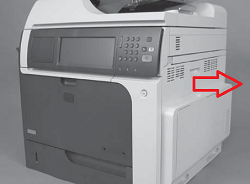 HP LaserJet CM4540 Fuser Replacement and Reset
