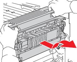 Xerox Workcentre 6400 Fuser removal