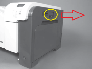 hp laserjet p3015 fuser replacement instructions