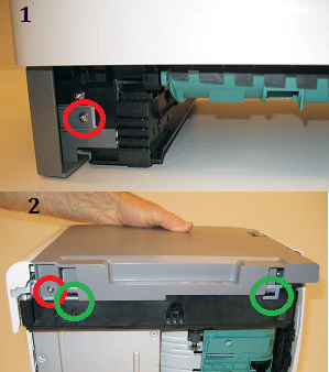 Dell-3335dn-left-cover-removal