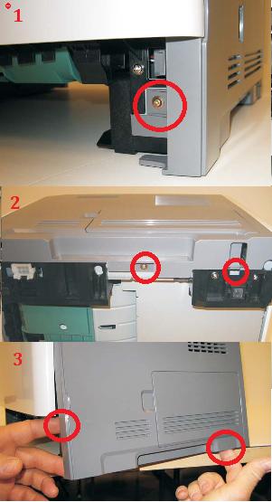 Dell-3335dn-right-cover-removal