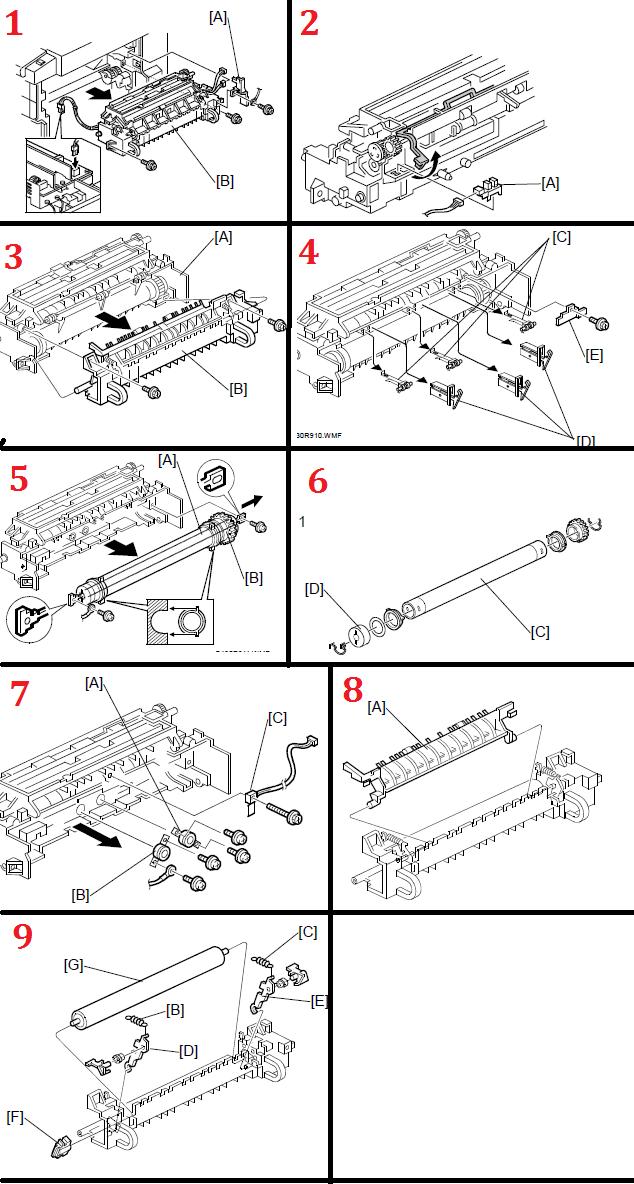savin 3515 pmb12990k replacement procedure pmb12990k rh fortwayneprinterrepair com Manuals in PDF Instruction Manual Book