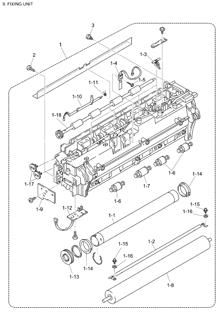 Brother Dcp 8020 Parts List And Illustrated Parts Diagrams