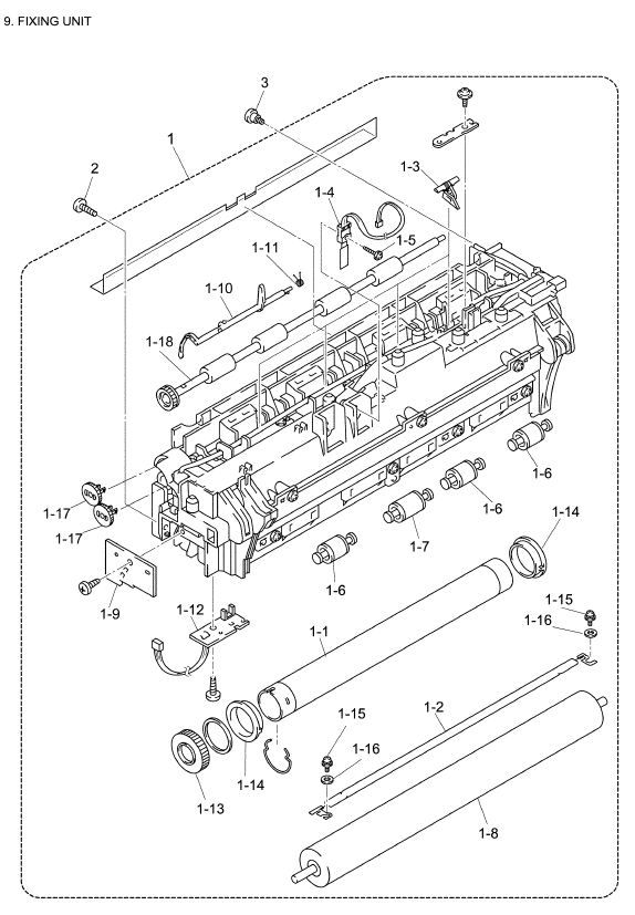 Brother Mfc 8440 Parts List And Illustrated Parts Diagrams