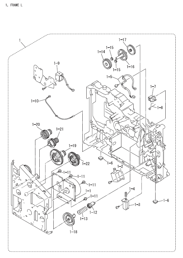 Printer Diagram