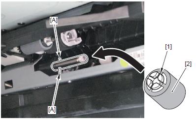 Canon imageRUNNER C5180i separation roller installation