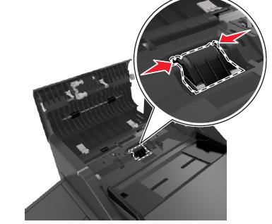 Lexmark MX410 Doc Feeder (ADF) Separator Roller Removal