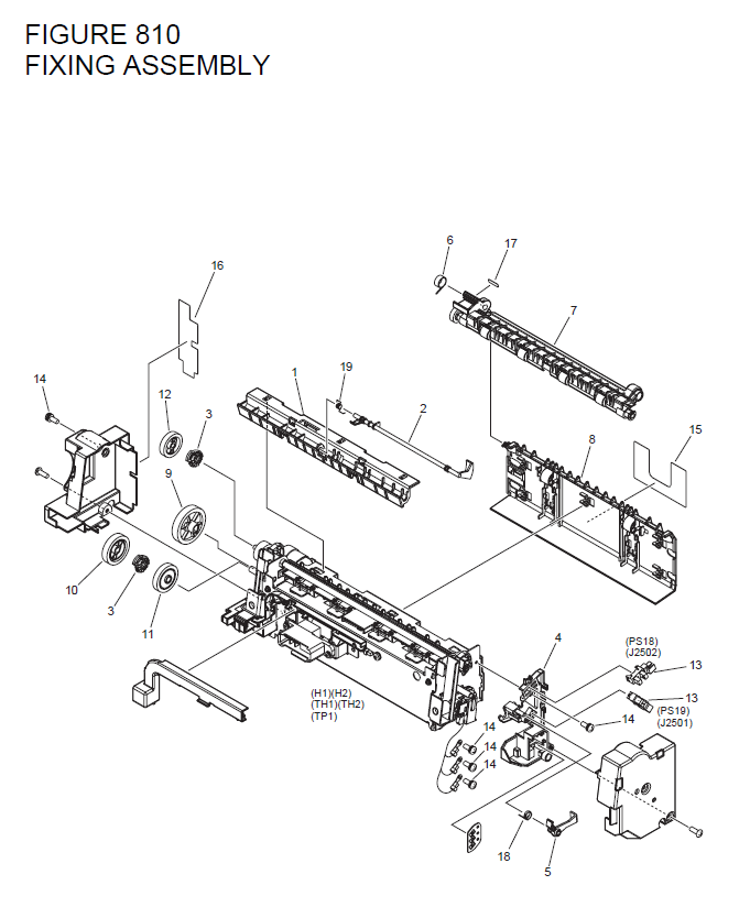 Canon Imagerunner 1730i Parts List And Diagrams