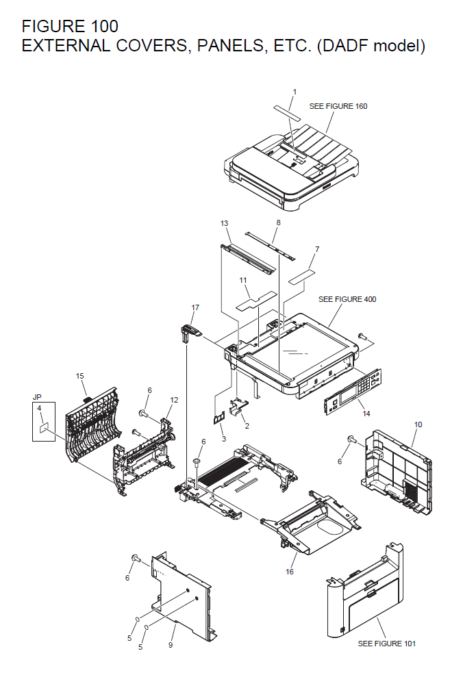 Canon Imageclass Mf216n Parts List And Diagrams