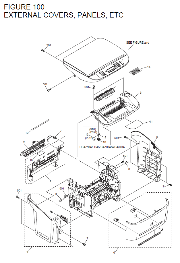 Canon Laserbase Mf3220 Parts List And Diagrams