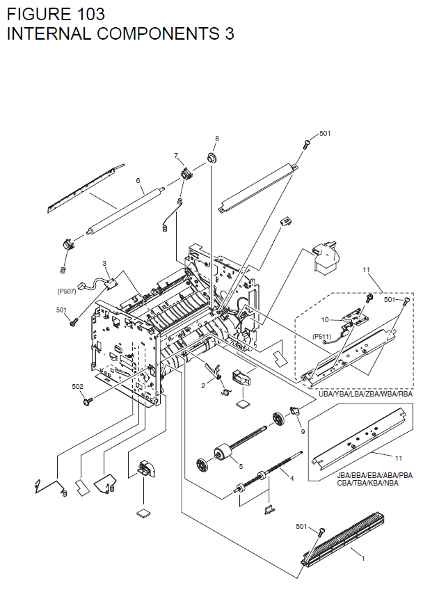 Canon Laserbase Mf3228 Parts List And Diagrams