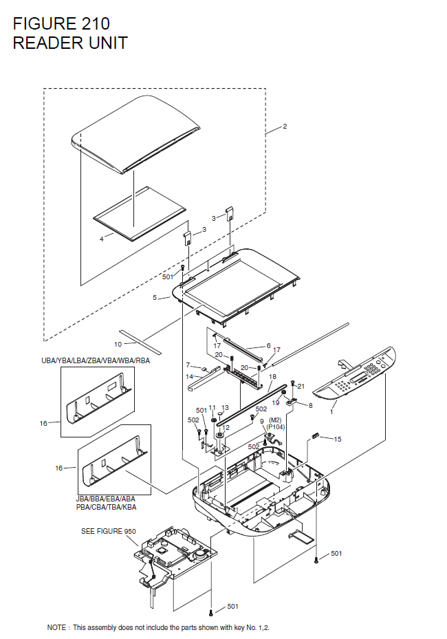 Canon Imageclass Mf3241 Parts List And Diagrams