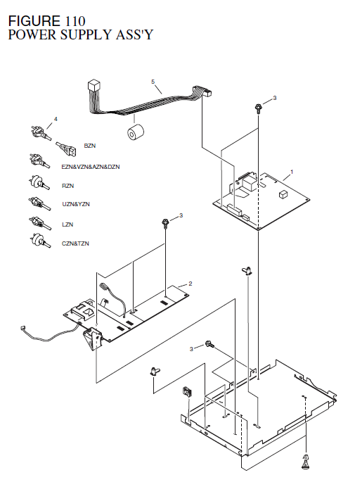 Canon Laserbase Mf3110 Parts List And Diagrams