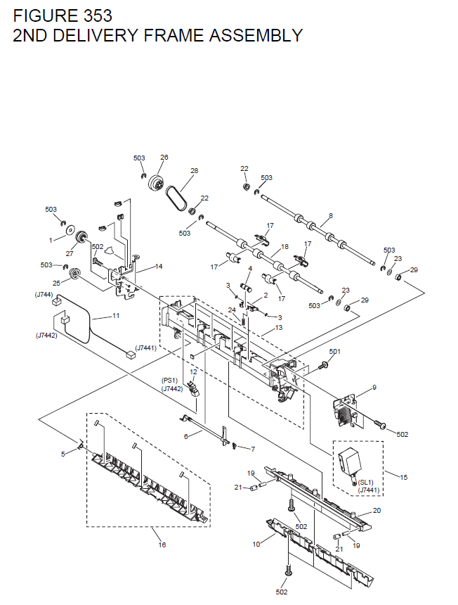 Canon Imagerunner 3530 Parts List And Diagrams