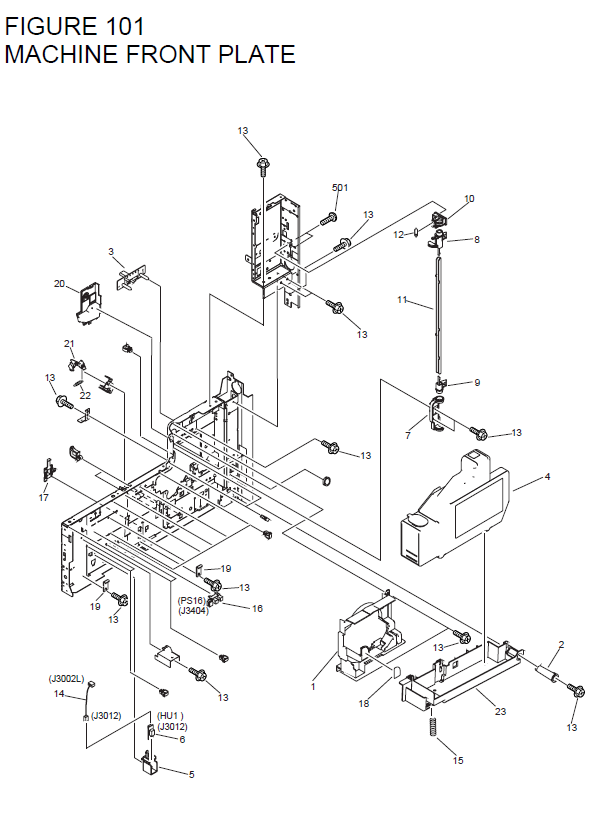 Canon Imagerunner 3570 Parts List And Diagrams