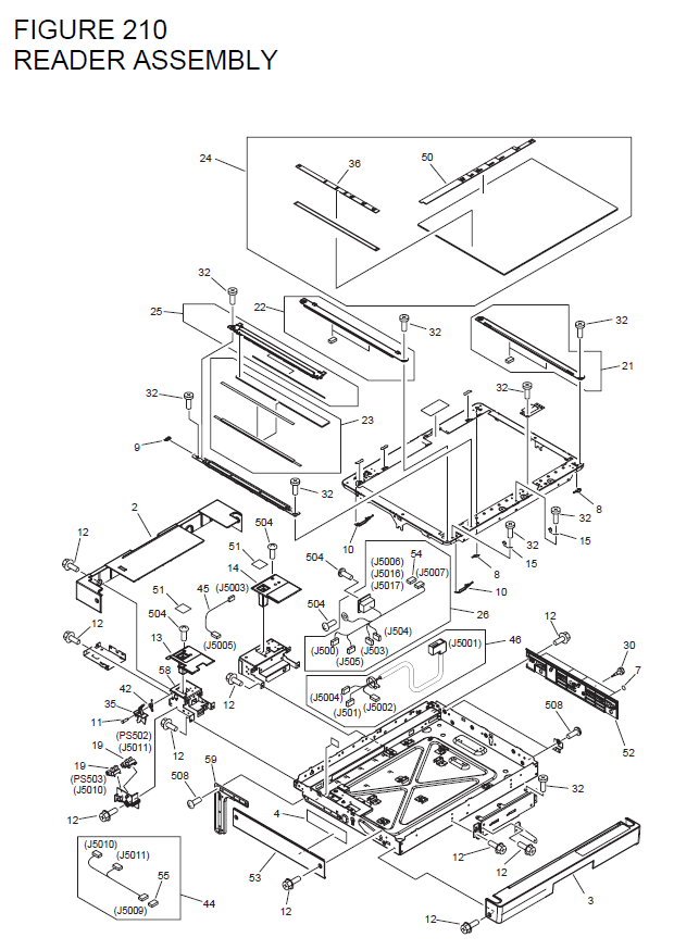 Canon Imagerunner 2230 Parts List And Diagrams