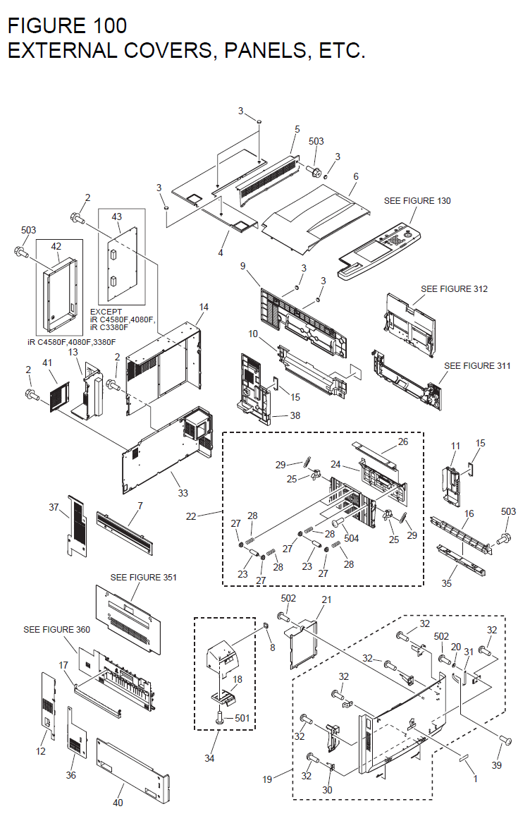 Canon Imagerunner Clc5151 Parts List And Diagrams 6400 Converter Wiring Diagram