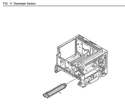 Kyocera TASKalfa 2201 Parts List and Diagrams