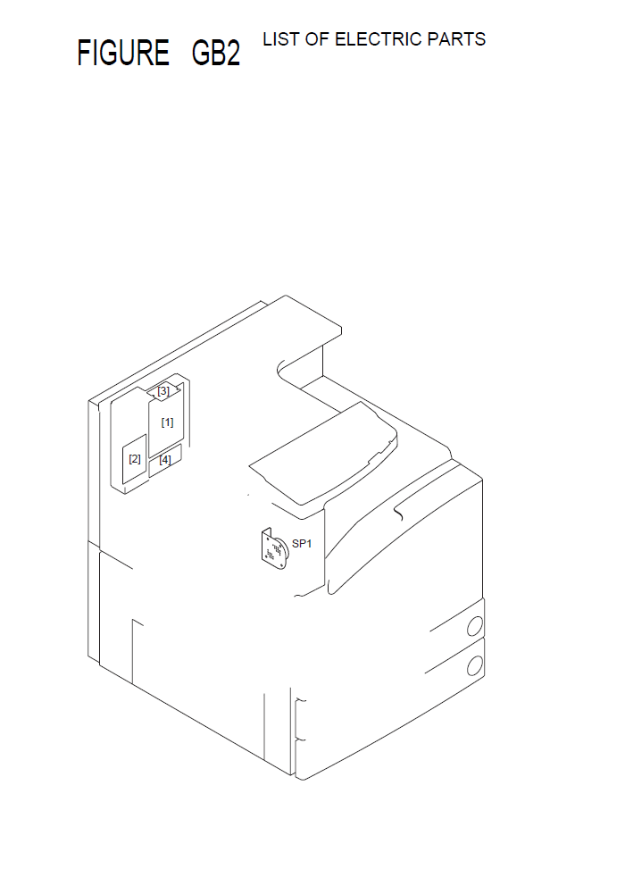 Canon imageRUNNER 3300G Parts List and Diagrams