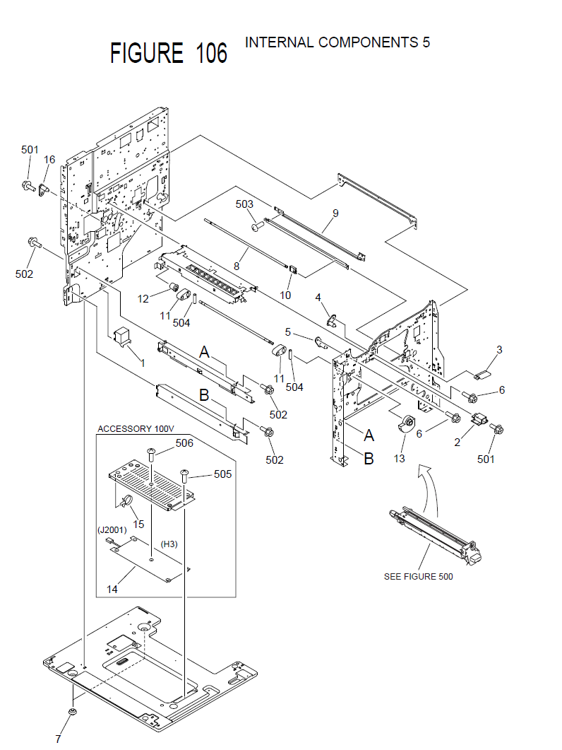 Canon Imagerunner 2850i Parts List And Diagrams