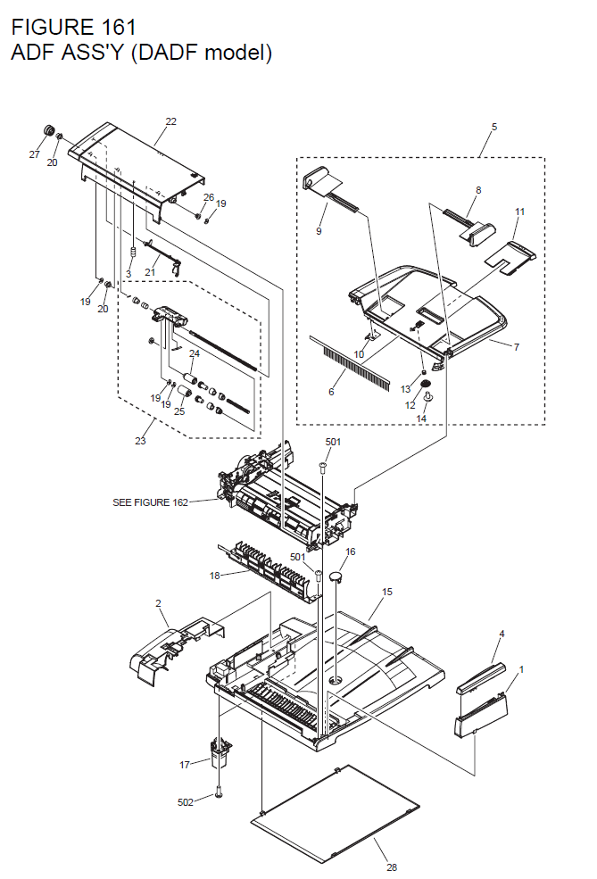Canon I Sensys Mf4350d Parts List And Diagrams