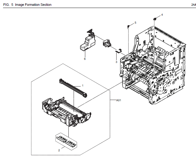 Kyocera Ecosys M3550idn Parts List And Diagrams
