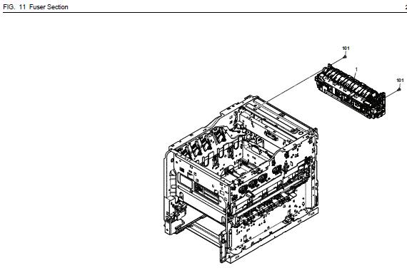 Kyocera ECOSYS P7040cdn Parts List and Diagrams