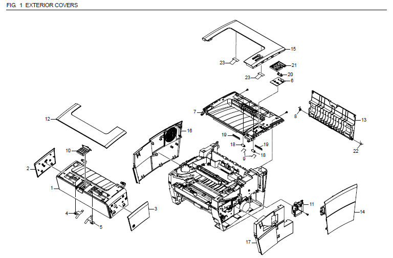 Kyocera Fs 920 Parts List And Diagrams
