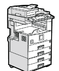 Lanier LD122, LD127 Parts List and Diagrams