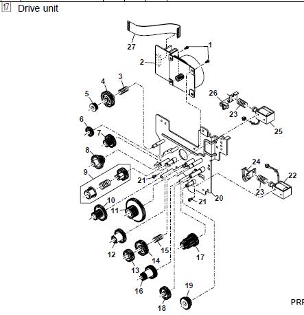 Sharp Al 1551cs Parts List And Diagrams