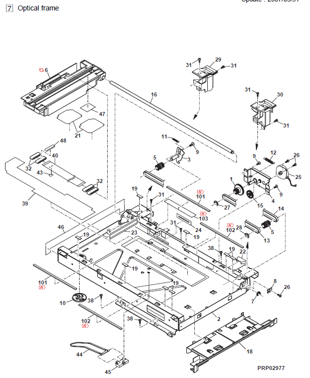 Sharp Al 1655cs Parts List And Diagrams
