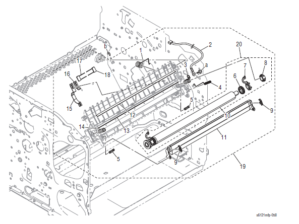 Xerox Phaser 6121MFP Part List 7.1 Transfer Section