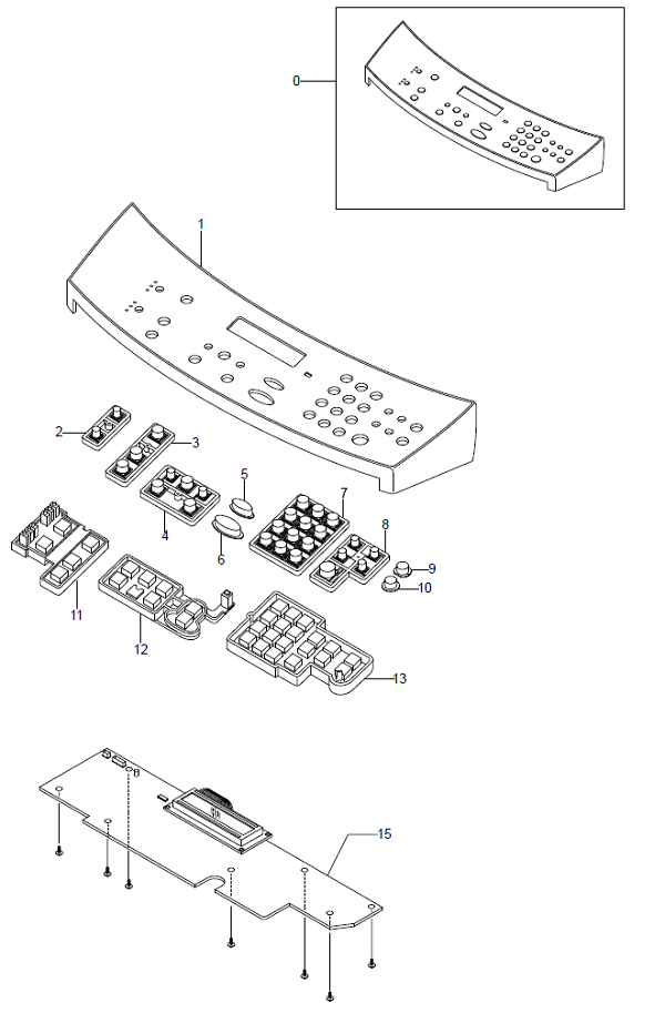WorkCentre PE16OPE Unit Assembly Parts List