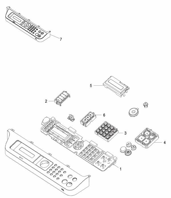 PL 8.1 Xerox Workcentre 3215/3225 Control Panel