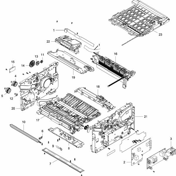 PL 4.1 Xerox Workcentre 3215-3225 Frame