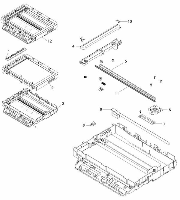 PL 7.1 Xerox Workcentre 3215-3225 Scanner Module