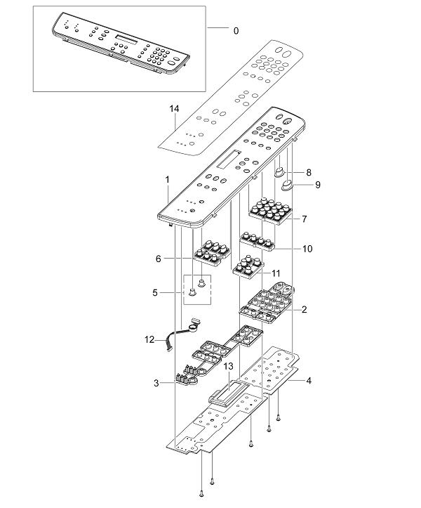 Xerox Workcentre PE 220 OPE Unit