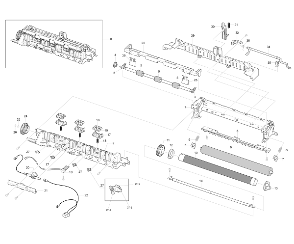 Xerox Workcentre PE 220 Fuser Unit