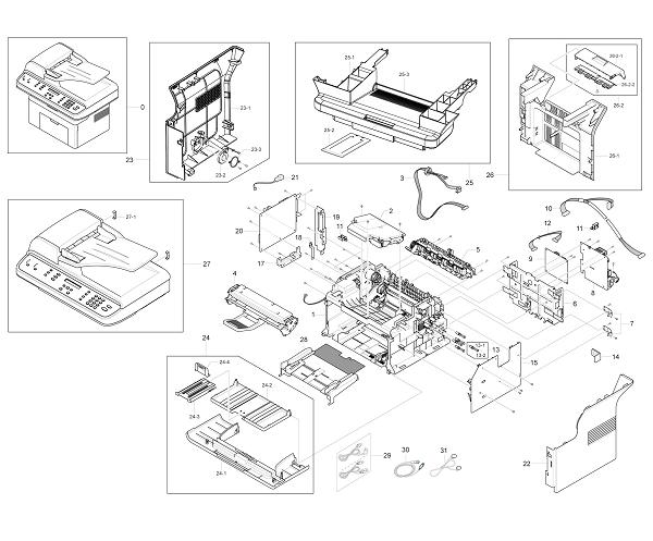 Xerox Workcentre PE 220 main