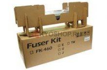 Kyocera TASKalfa 180 Fuser Error Reset Procedure - FK-460